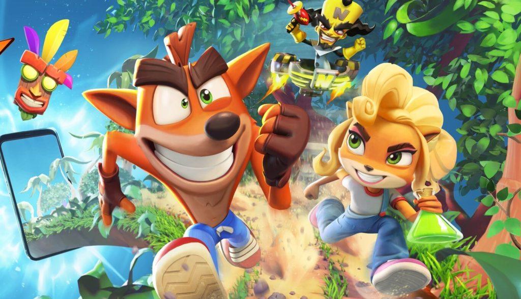 Juegos para Android e iOS Crash Bandicoot