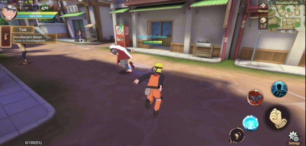 Naruto Slugfest mobile