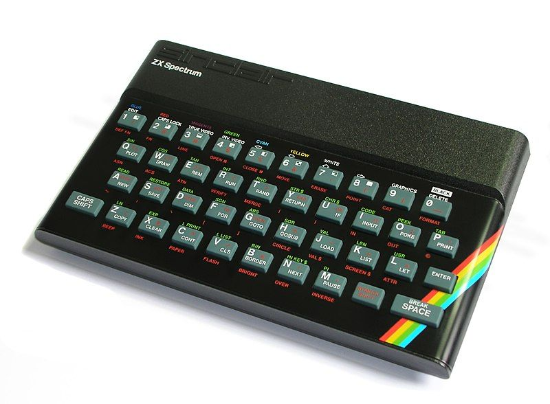 Spectrum zx años 80