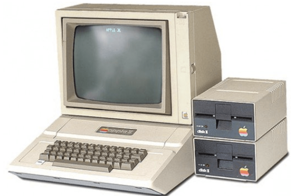 apple II años 80