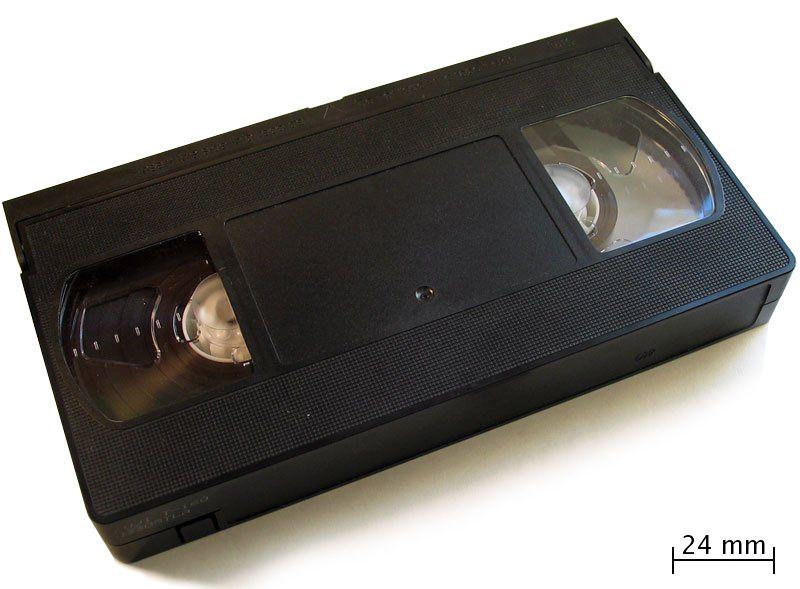 cinta VHS años 80